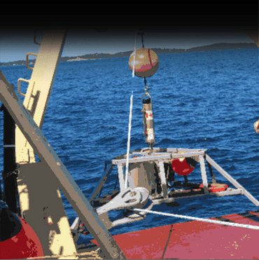 Trawl Shield Tripod Bottom Mount with Pop-Up Buoy DK-40 Series