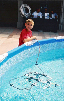Bryce Rosenthal (Brock Rosenthal's Son) and his ROV