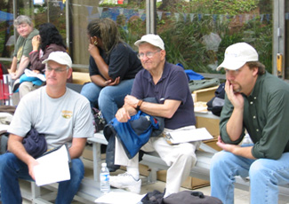Judging MATE ROV competition 2007 with Will Foreman and Leonard Pool/Sidus