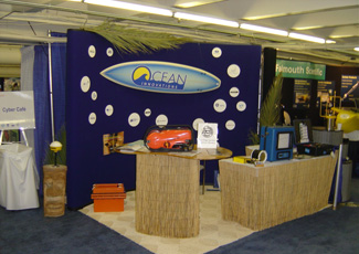 Oceans 2003 - Ocean Innovation's Booth