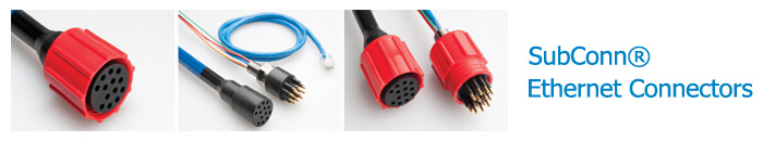 SubConn® Ethernet Connectors
