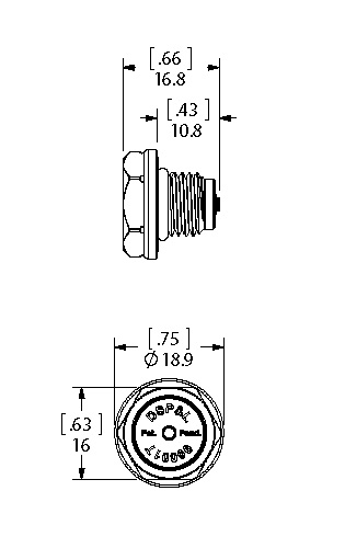 Double Dual Seal dimensions