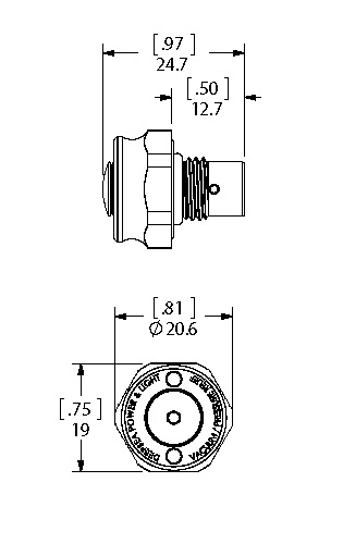Single Dual Seal dimensions