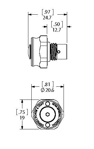 Single Dual Seal dimensions