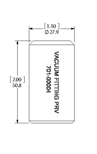 Vacuum Attachment dimensions