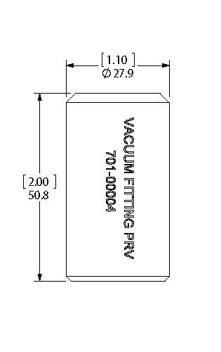 Vacuum Attachment dimensions