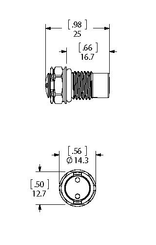 Single Seal SAE dimensions