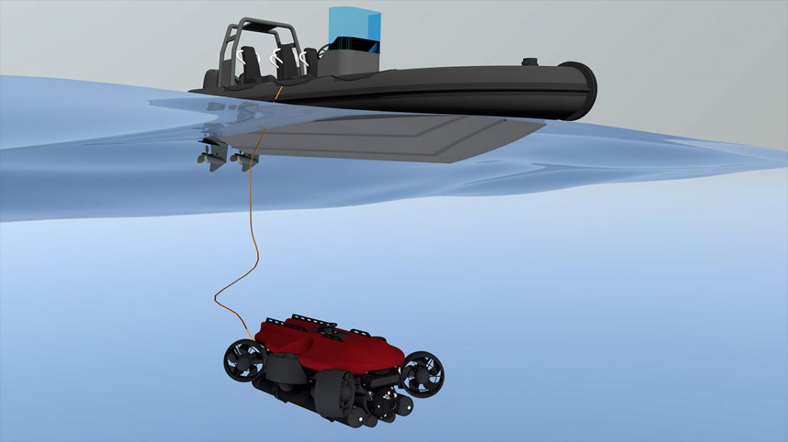 Fusion modes - Remotely Operated Vehicle