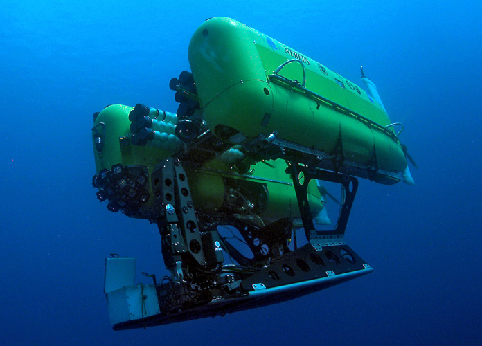 DeepSea Supplies Ceramic Flotation for HROV Nereus Project