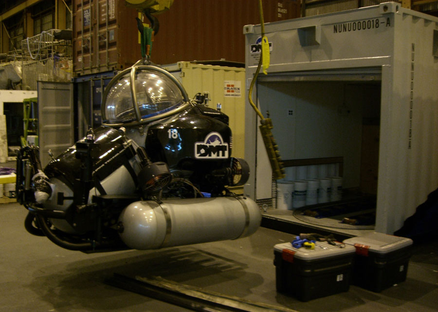 Building a multi-mission, deep-water Applied Science ROV under a series of significant constraints