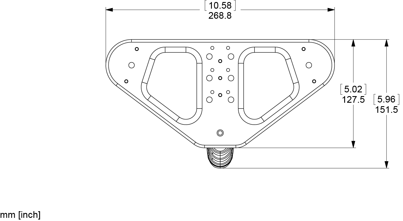 LBRKT Bracket Line Drawing