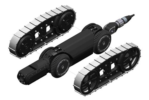 Crawler Tracks Kit Ocean Innovations