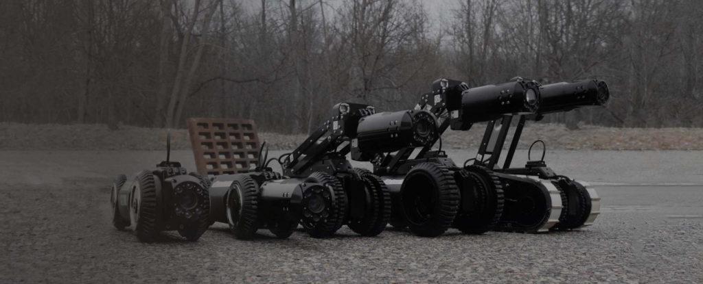 DT340 Pipe Crawler